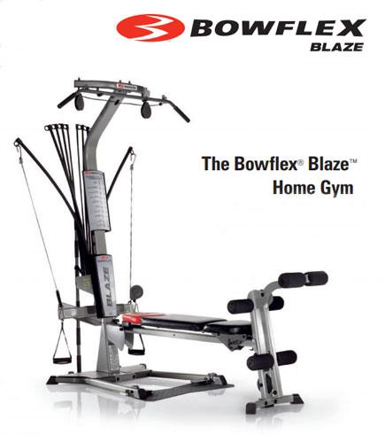 bowflex blaze power rod home gym