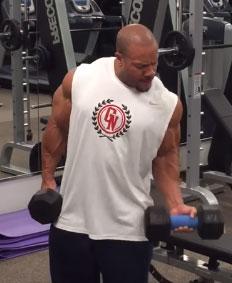 Phil Heath Fat Gripz workout