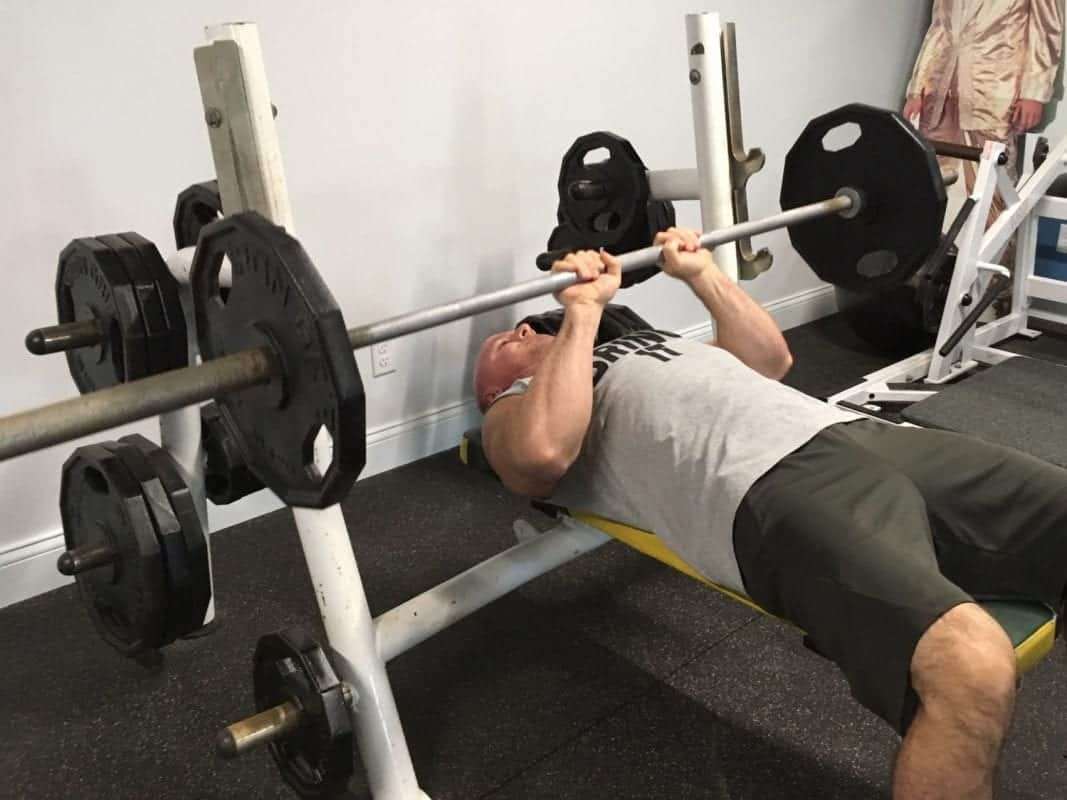 Close Grip Bench Press - mass developer for triceps