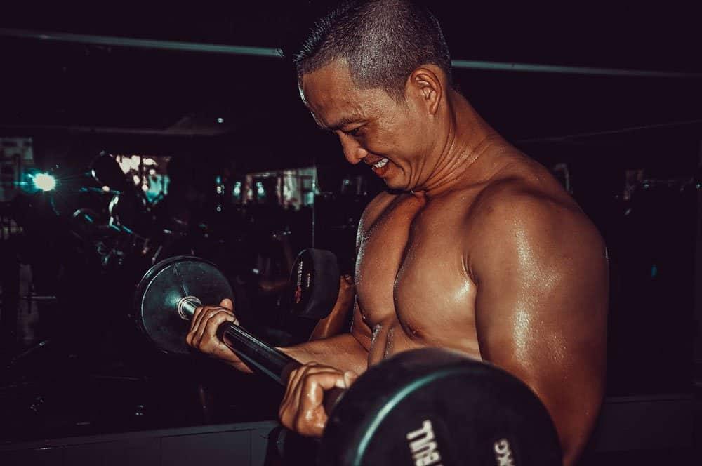 senior bodybuilder