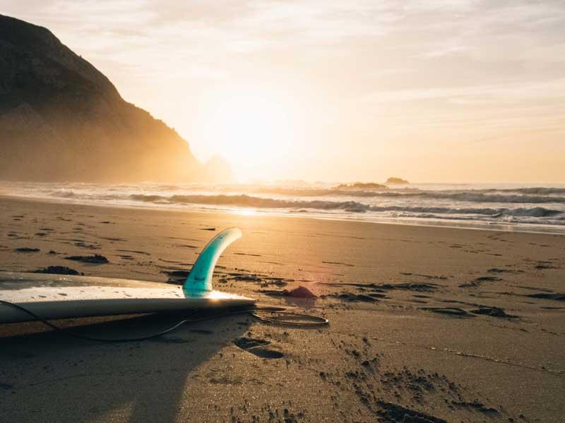 balance board training for surfers