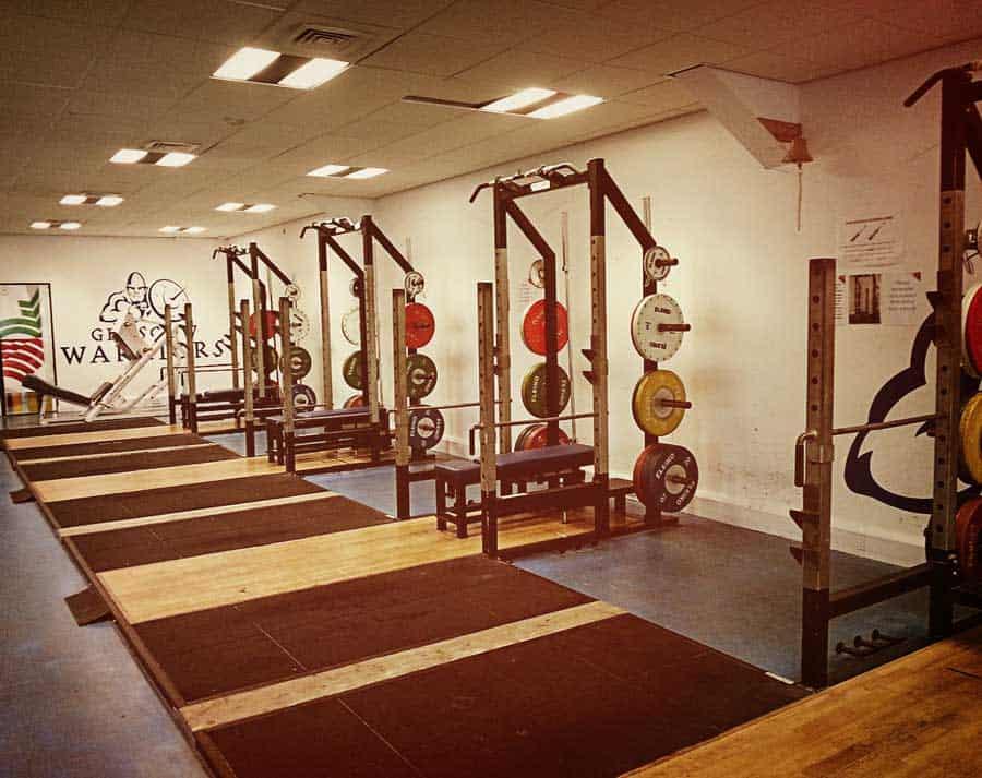 ed's home gym
